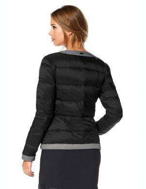BUFFALO melnas krāsas stilīga sieviešu jaka