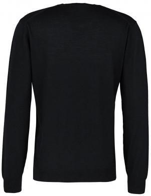 GANT melnas vilnas vīriešu džemperis