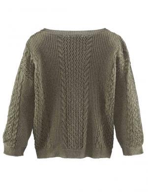 STEFANEL stilīgs haki krāsas sieviešu džemperis