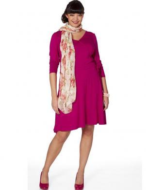 SHEEGO skaista spilgti rozā krāsas kleita