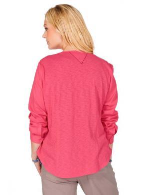 TRIANGLE BY S.OLIVER rozā kokvilnas sieviešu krekls