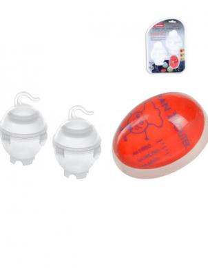Plastika olu vārīšanas formiņas (2 gab.) ar taimeri ORION