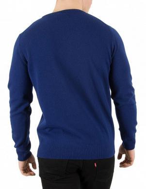 Zils vīriešu džemperis ar vilna GANT