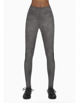 BAS BLACK pelēkas krāsas sieviešu bikses, 300 DEN