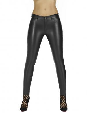 BAS BLEU sieviešu melnas krāsas bikses, 200 DEN