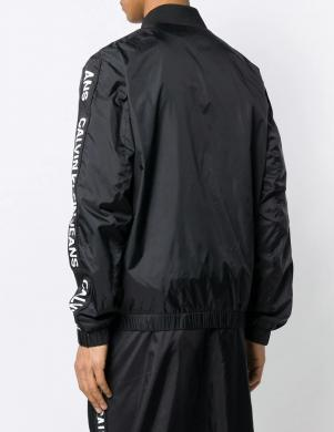 CALVIN KLEIN JEANS melna vīriešu jaka