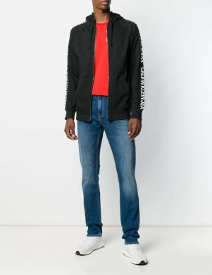 CALVIN KLEIN JEANS melns vīriešu džemperis