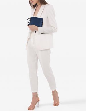 ANNA MORELLINI zila ādas sieviešu soma