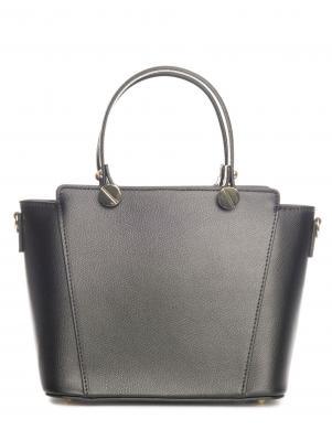 PIA SASSI melna ādas sieviešu soma
