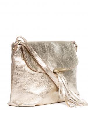 PIA SASSI spīdīga ādas sieviešu soma