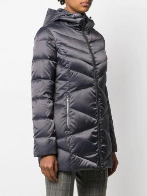 EA7 pelēka sieviešu jaka