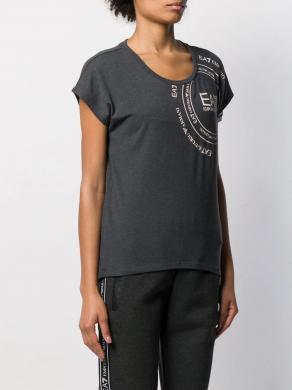 EA7 pelēks sieviešu krekls