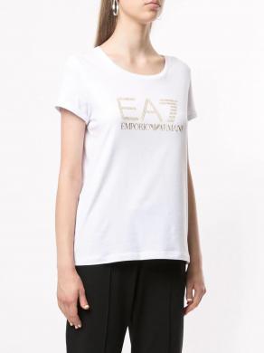 EA7 balts sieviešu krekls