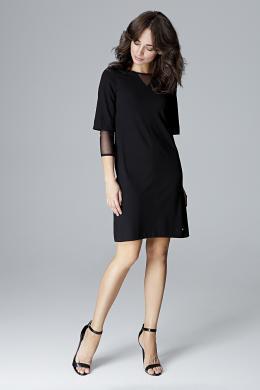 LENITIF melna kleita
