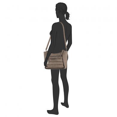 Sieviešu soma brūna OLIVIA GABOR