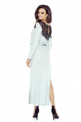 BERGAMO pelēka kleita