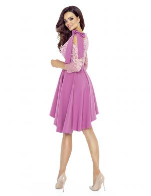BERGAMO rozā krāsas skaista sieviešu kleita