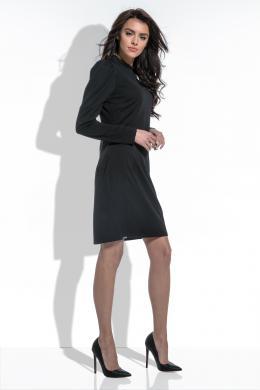 FOBYA melna skaista kleita