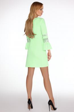 Zaļa skaista kleita MERRIBEL