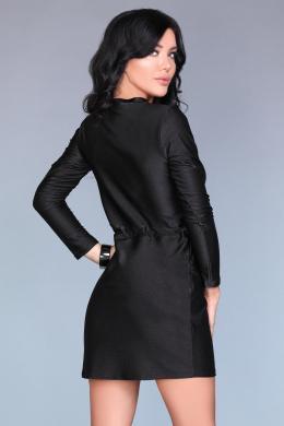 Melna stilīga kleita MERRIBEL