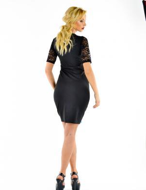 NATALEE melna  sieviešu kleita