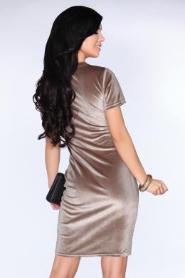 Krēmīgas krāsas skaista kleita MERRIBEL