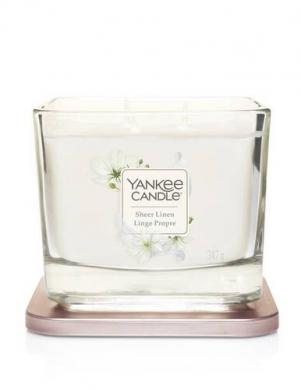YANKEE CANDLE aromātiskā svece SHEER LINEN 347 g