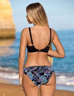 Melns peldkostīms bikini LORIN