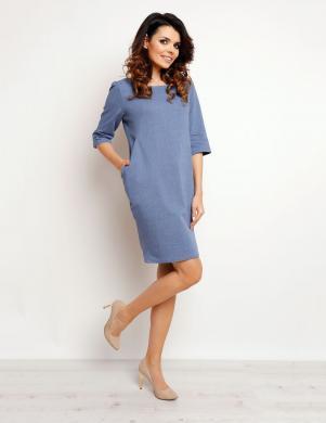 INFINITE YOU kleita zilā krāsā M078
