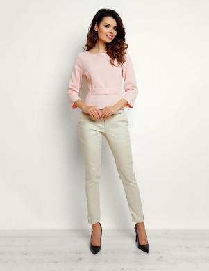INFINITE YOU sieviešu maigi rozā krāsas blūze M089
