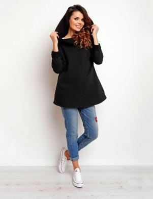 INFINITE YOU melnas krāsas sieviešu džemperis M096