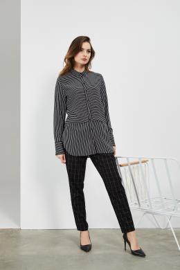 MOODO melns sieviešu krekls