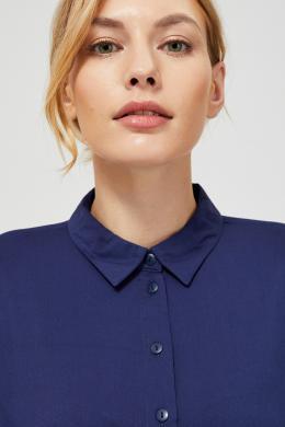 MOODO zils sieviešu krekls