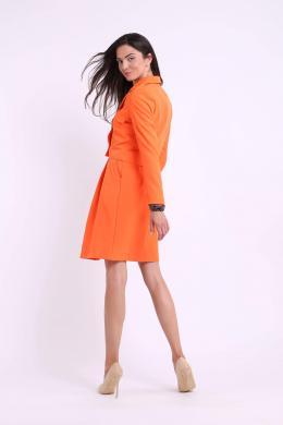 COLOUR MIST oranža sieviešu jaka