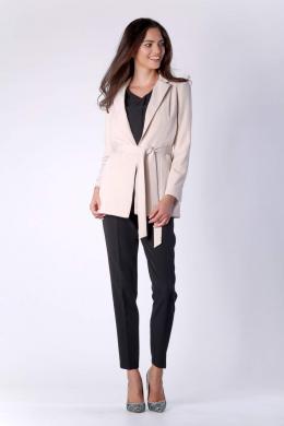 COLOUR MIST smilšu krāsas sieviešu jaka