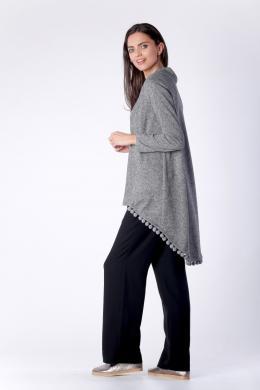 COLOUR MIST pelēks sieviešu džemperis