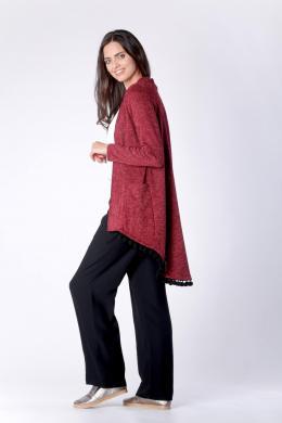 COLOUR MIST tumši sarkans sieviešu džemperis