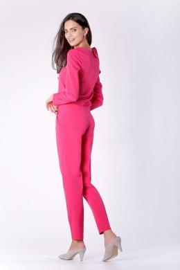 COLOUR MIST rozā sieviešu bikses