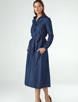 COLETT zila kleita