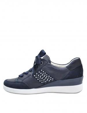 Sieviešu zili brīva laika apavi ar kristālu ARA