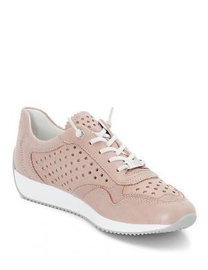Sieviešu rozā perforēti apavi ARA