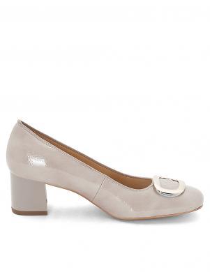 Sieviešu gaiši lakoti augstpapēžu apavi ARA