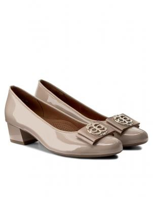 Sieviešu smilšu krāsas lakoti apavi ARA