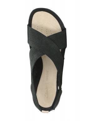 Sieviešu melnas sandales TRI CHLOE CLARKS