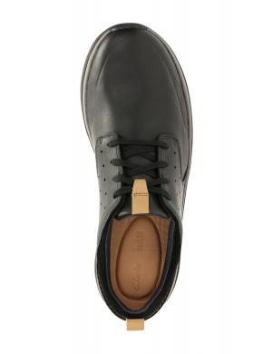 Vīriešu melni brīva laika apavi GARRATT LACE CLARKS