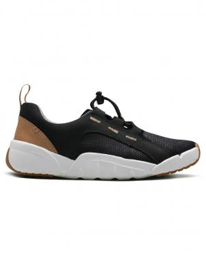 Bērnu melnas krāsas kurpes ar gumiju CLARKS