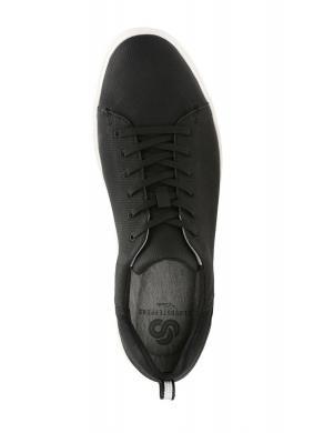 Vīriešu melni apavi STEP VERVE LO CLARKS