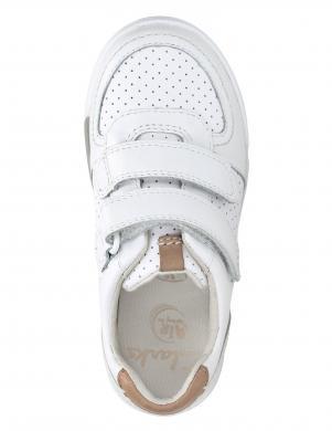 Bērnu baltas krāsas kurpes ar uzlīmēm CLARKS