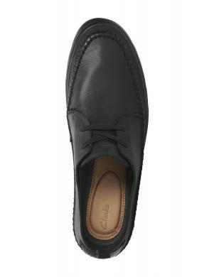 Vīriešu melni apavi KESSELL CRAFT CLARKS