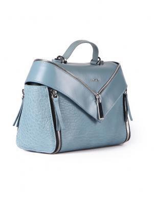Sieviešu zila ādas soma DIESEL